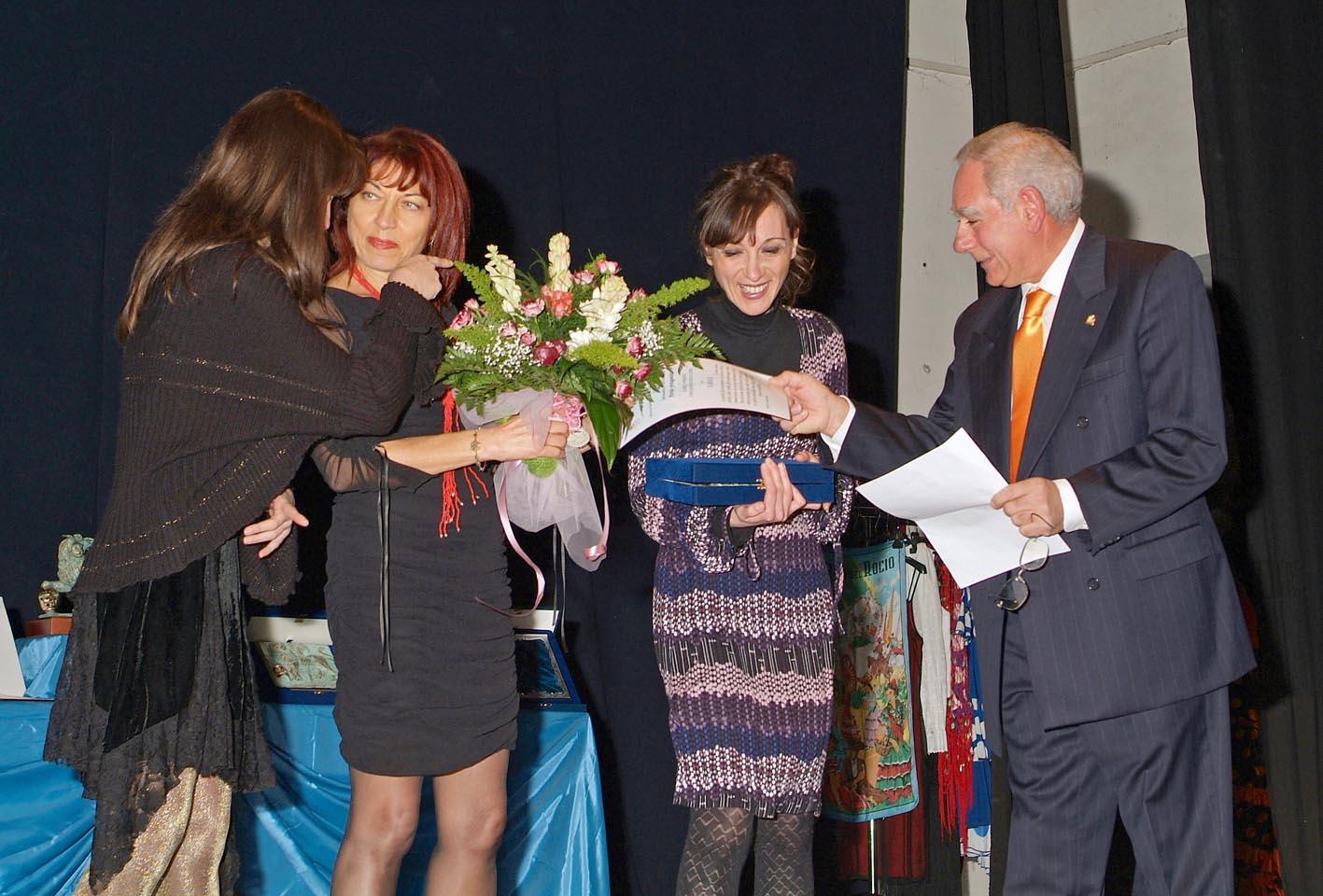 Premio migliore attrice protagonista al XIII festival internazionale città di Viterbo (Xanax)