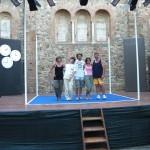 Gli irriducibili sul palco della Piazzetta di S.Maria di Allerona