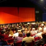 Il pubblico del Palatenda a Fabrica di Roma