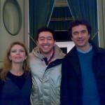 Alla fenice di Osimo Diego con Amanda Sandrelli e Blas Roca Rei