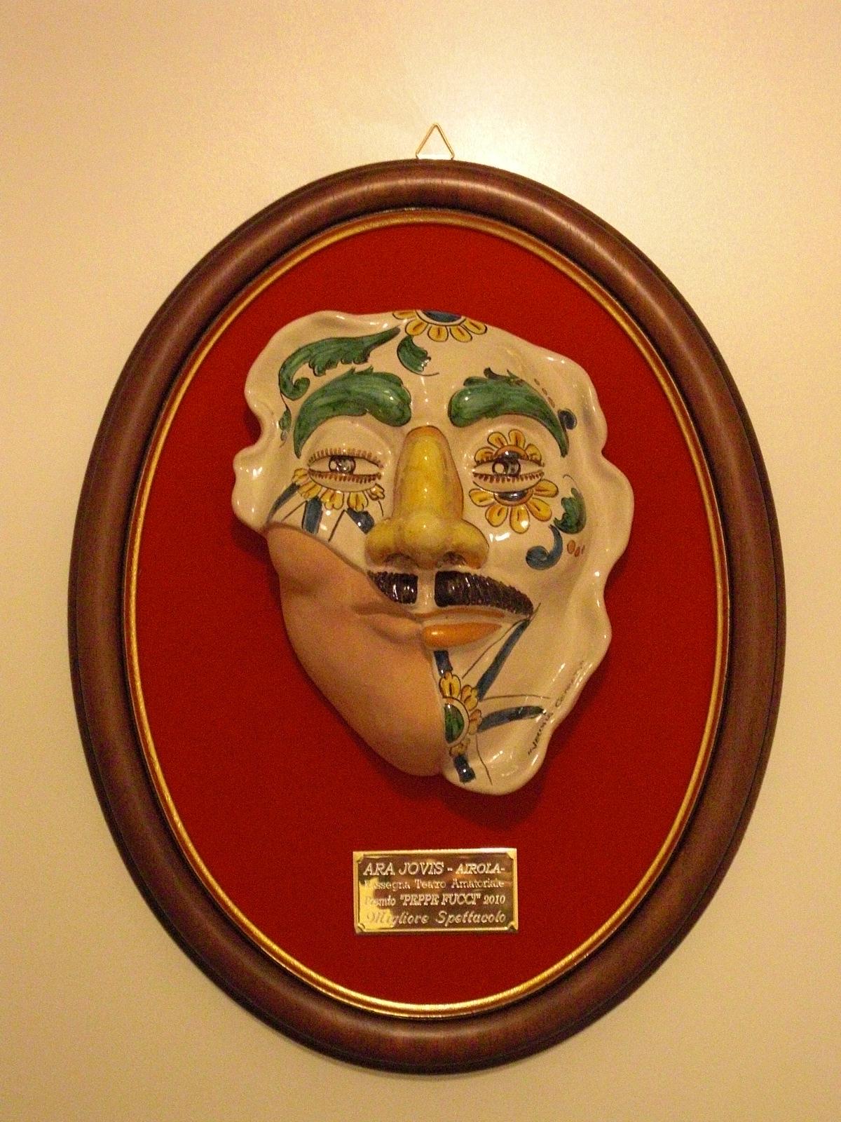 """Premio miglior spettacolo al """"Peppe Fucci"""" 2010 di Airola (BN) (Xanax)"""