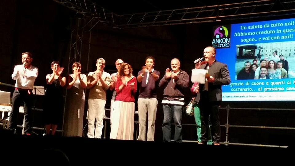 Ecco tutti i vincitori del festival di teatro Ankon d'Oro – Premio Carlo Urbani edizione 2015!