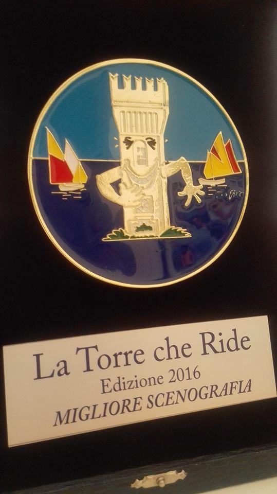 """Premio miglior scenografia alla V edizione de """"La torre che ride"""" di Porto Potenza Picena (MC) (Oh Dio mio!)"""