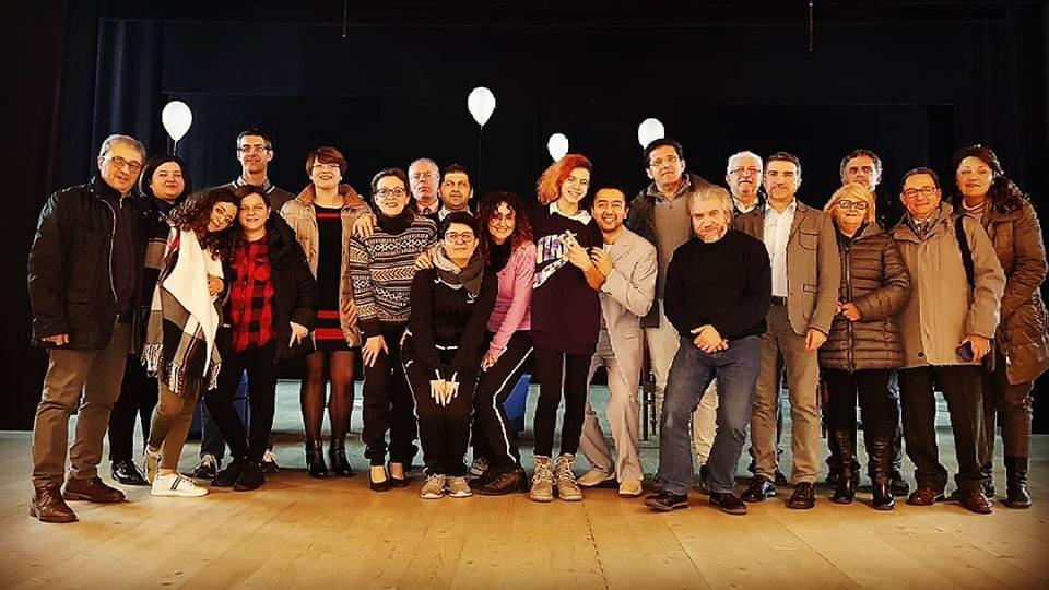 """Teatro in Sala. Applausi per lo spettacolo """"Io sono"""" della Compagnia """"C.L.A.E.T."""" di Ancona"""