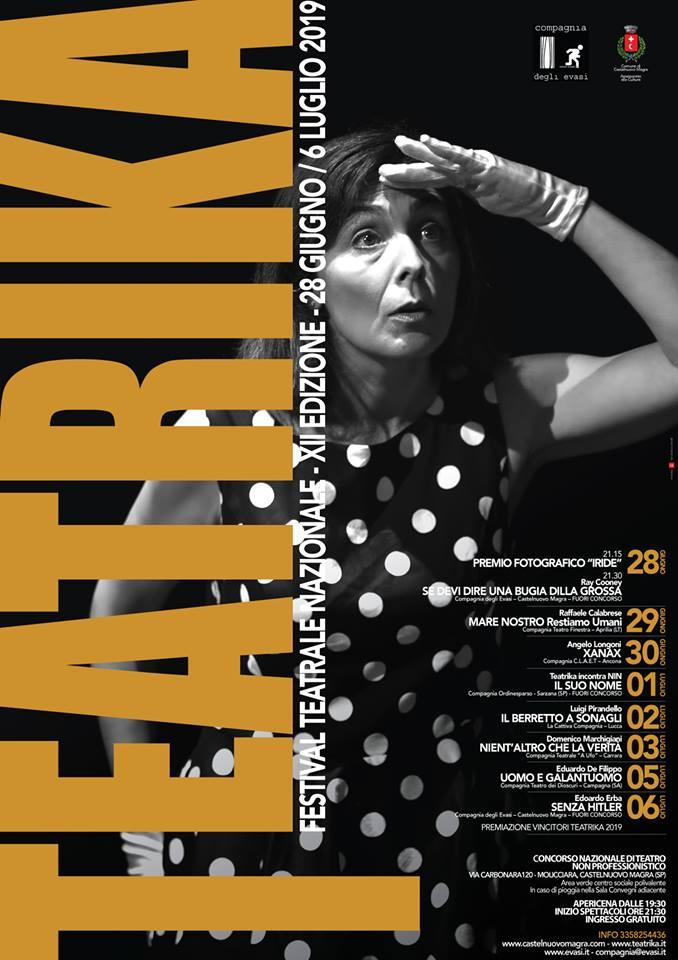 Xanax al Teatrika 2019