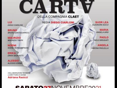 """Il nuovo spettacolo teatrale """"Il castello di carta"""" al debutto"""